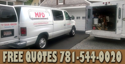 MPD Plumbing Heating Scituate commercial residential plumber