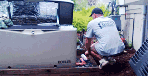 back-up generator scituate